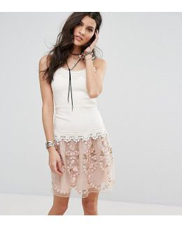 Exclusive Lace Tiered Dress