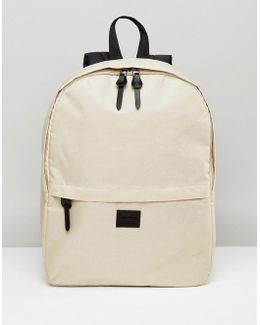 Backpack In Stone Yellow