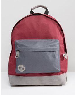 Mi Pac Classic Bacpack With Contrast Grey