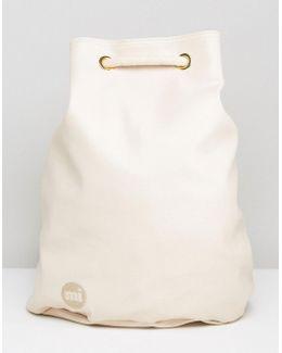 Mi Pac Tumbled Swing Backpack White