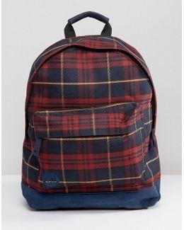 Mi Pac Tartan Backpack