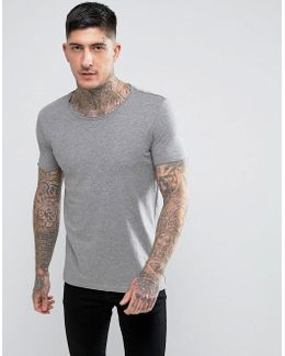By Hugo Boss Tooles Basic Crew T-shirt Grey