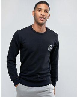 Sweatshirt With Logo In Black