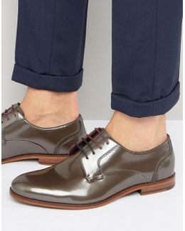 Iront Patent Derby Shoes