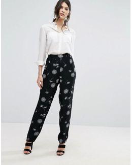 Femme Dandelion Print Pants