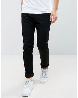 Jondrill Skinny Jeans Stretch Clean Black