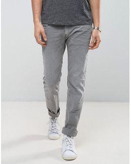 Anbass Stretch Slim Jeans Gray