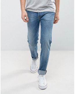 901 Taper Fit Jeans Light Wash