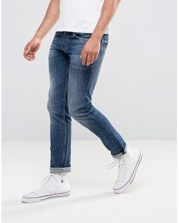 Ronas Slim Jeans Dark Wash