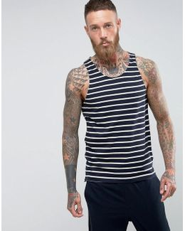Tank With Stripe