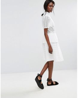 Broderie Anglaise Skirt