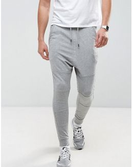 Drop Crotch Sweat Pants