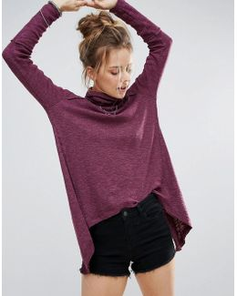 Long Sleeved Turtleneck Tee