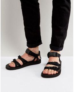 Alp Canvas Multi Strap Sandals