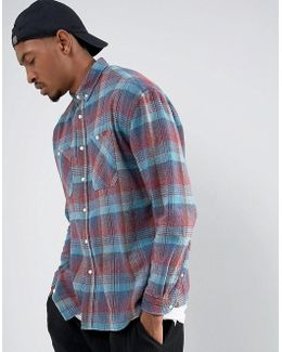 Regular Fit Vintage Look Check Shirt