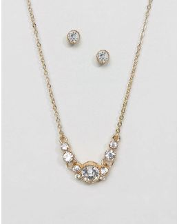 Toisien Earrings And Necklace Set
