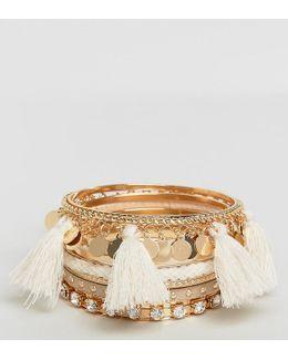 Multipack Tassel Bracelets