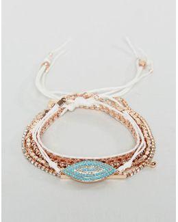 Rose Gold Stacking Bracelets