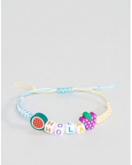 Hola Friendship Bracelet