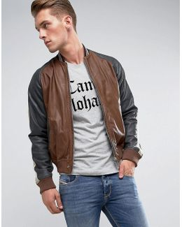 L-truly Leather Jacket