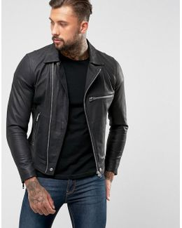 L-hater Leather Jacket