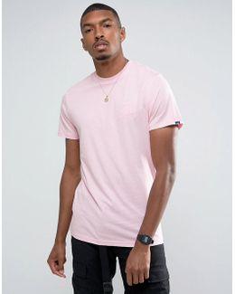 Classic Logo T-shirt In Pink Va394vj8z