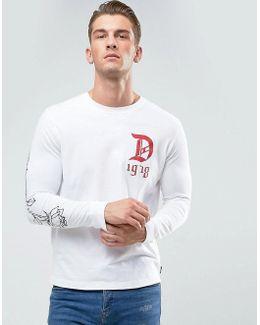 Joe-ls-qa Long Sleeve Top D Print