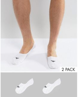 Invisible Socks 2 Pack