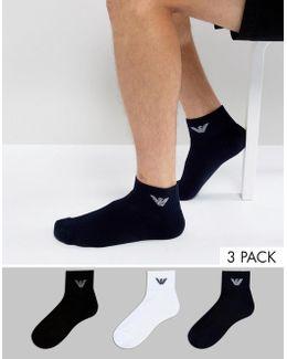 Sneaker Socks 3 Pack