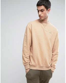 Heritage Sweatshirt In Tan