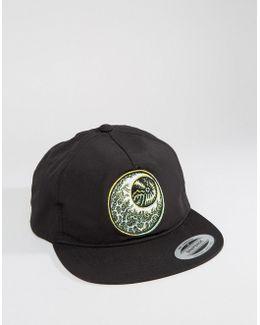 X Tetsunori Snapback Cap With Eyeball Logo