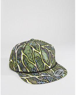 X Tetsunori Printed Snapback Cap