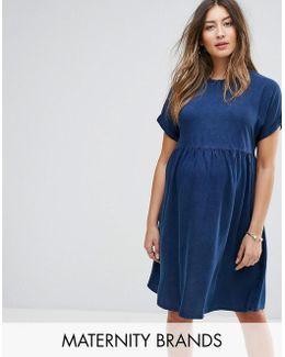 Tencel Smock Dress