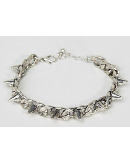 Chain Bracelet With Studs