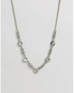 Chain Interest Necklace