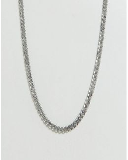 Short Neckchain In Silver