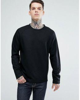 Wool Blend Sweatshirt