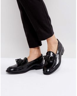 H By Hudson Fringe Loafers
