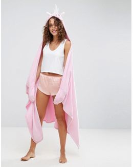 Unicorn Blanket Robe