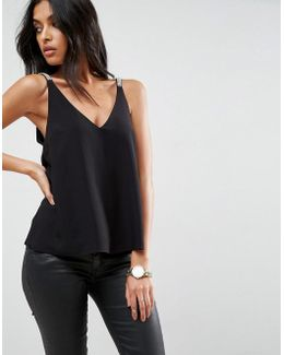 Cami With Embellished Strap