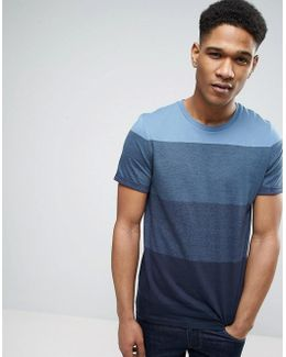 Core T-shirt With Bold Stripe