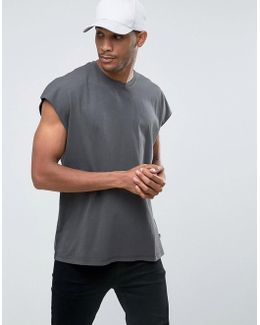 Originals T-shirt In Oversized Capped Sleeve