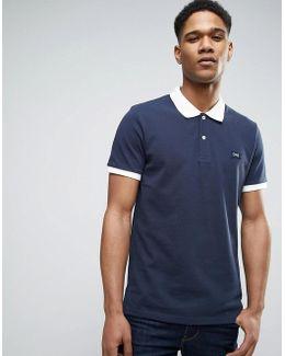 Originals Polo Shirt With Contrast Collar