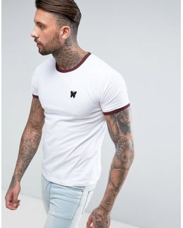 Ringer T-shirt In White