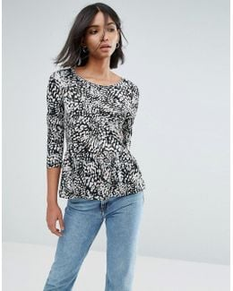 Top With Peplum