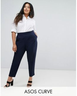 High Waist Tapered Pant