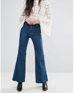 Ray Of Sunshine Flared Jeans