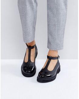 Madison Chunky Flat Shoes