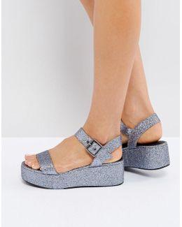 Toucan Wedge Sandals