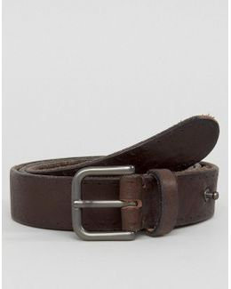 Belt In Leather